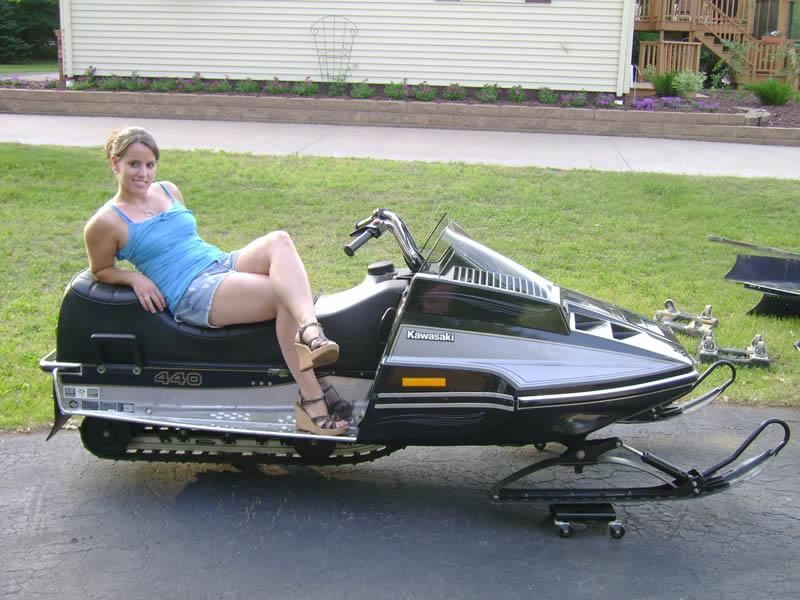 Kawasaki Ltd Snowmobile For Sale